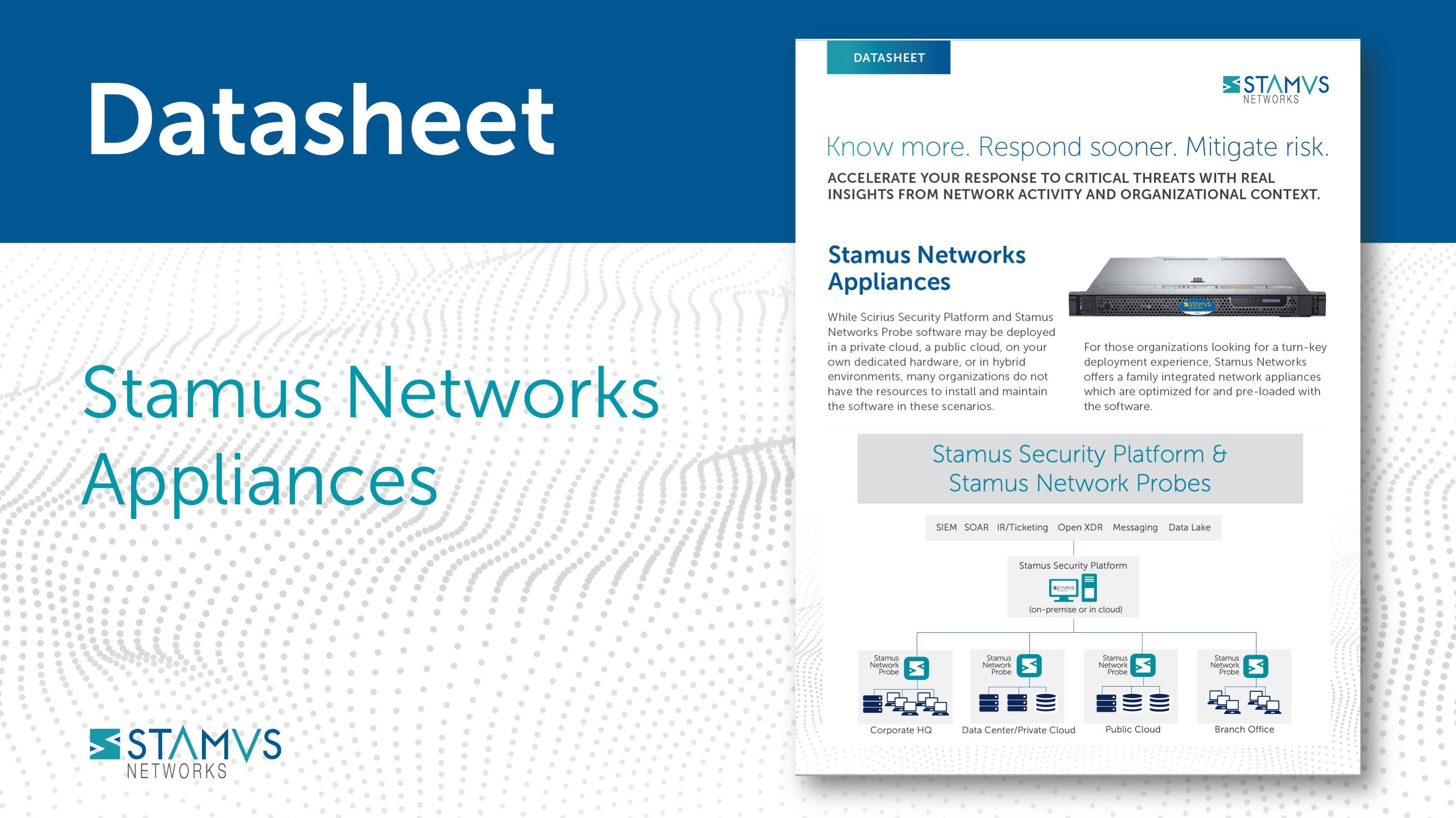 Stamus Networks Appliances
