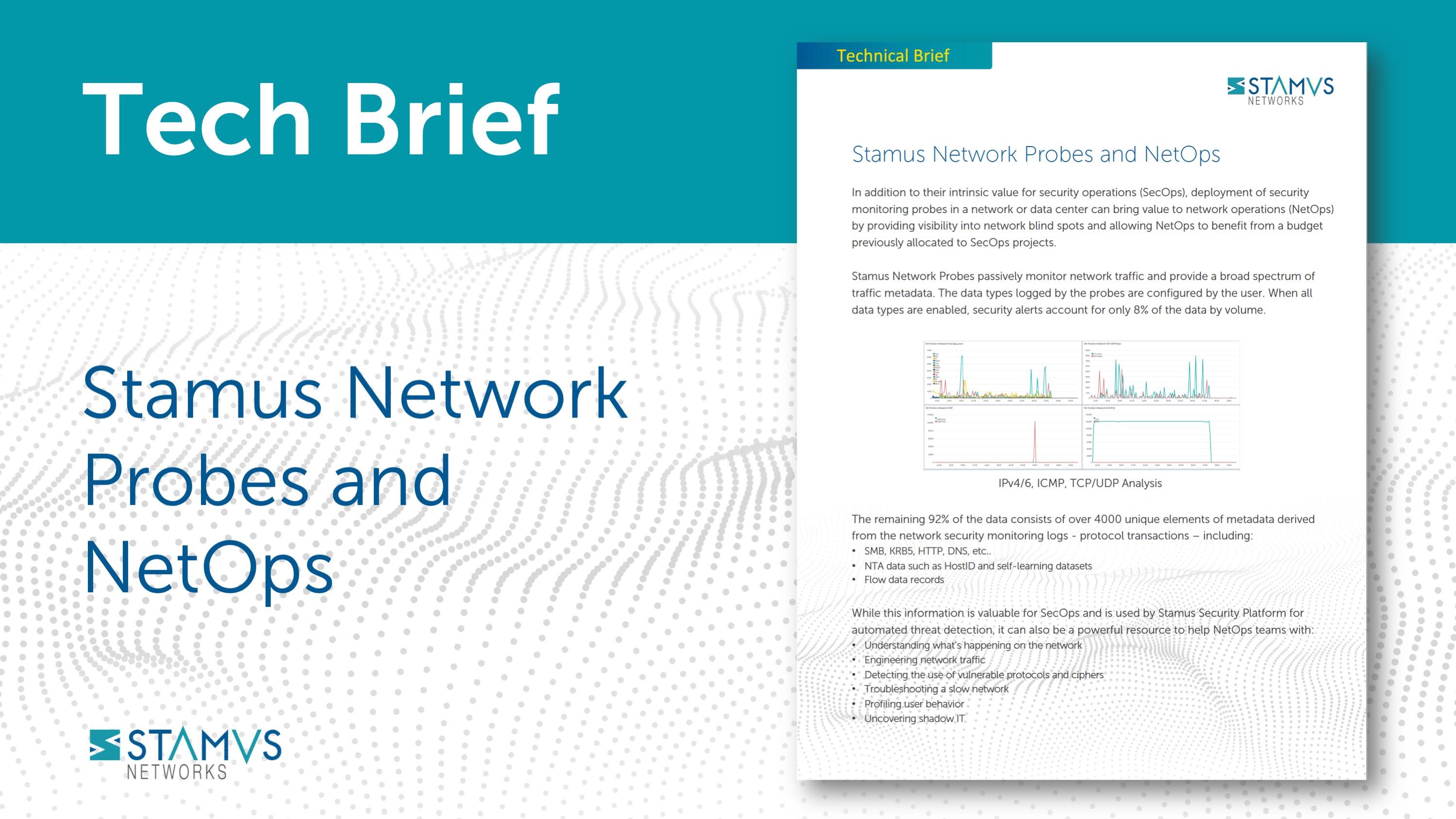 Stamus Networks Tech Brief - NetOps