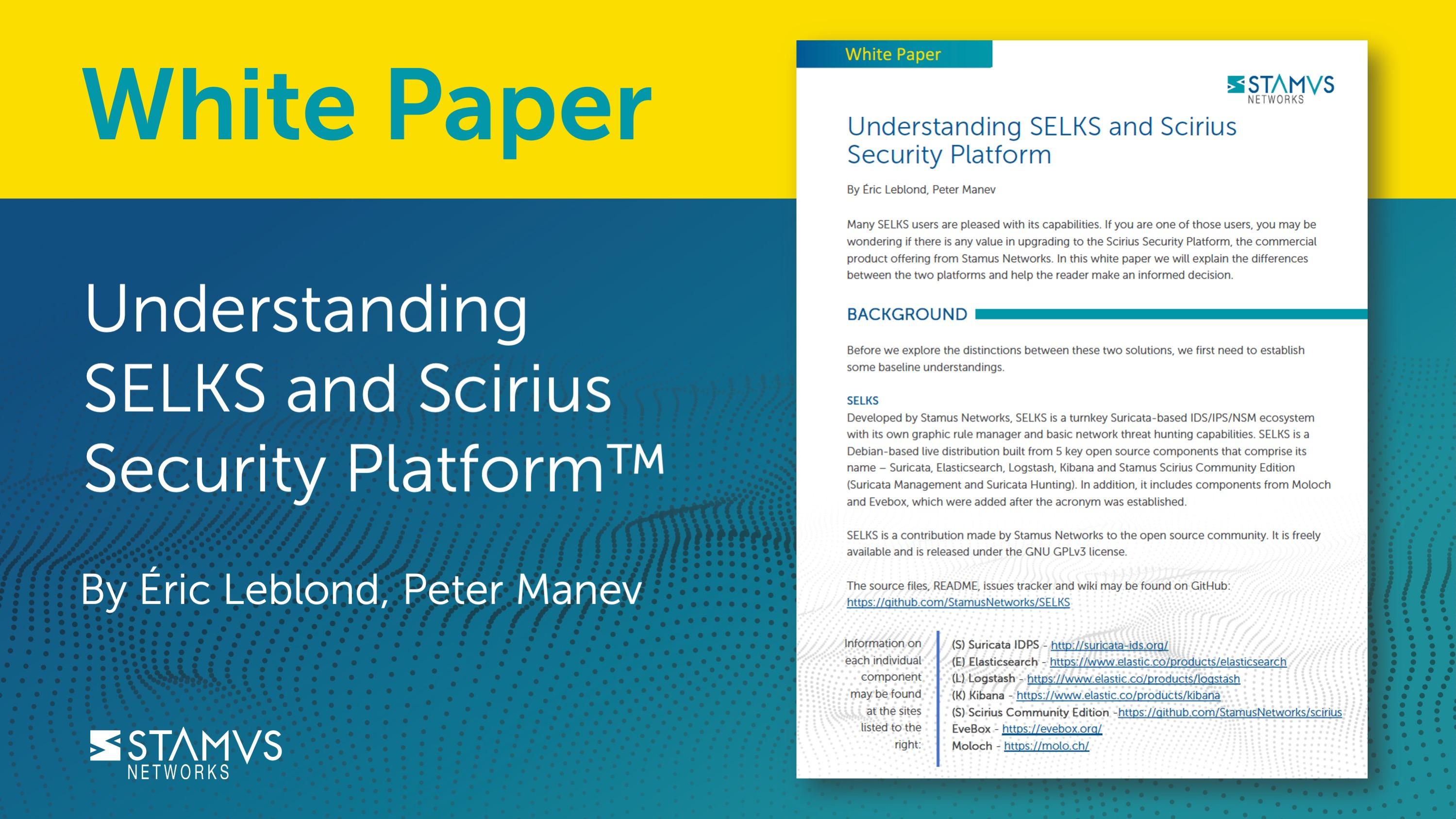 Understanding SELKS and Scirius Security Platform