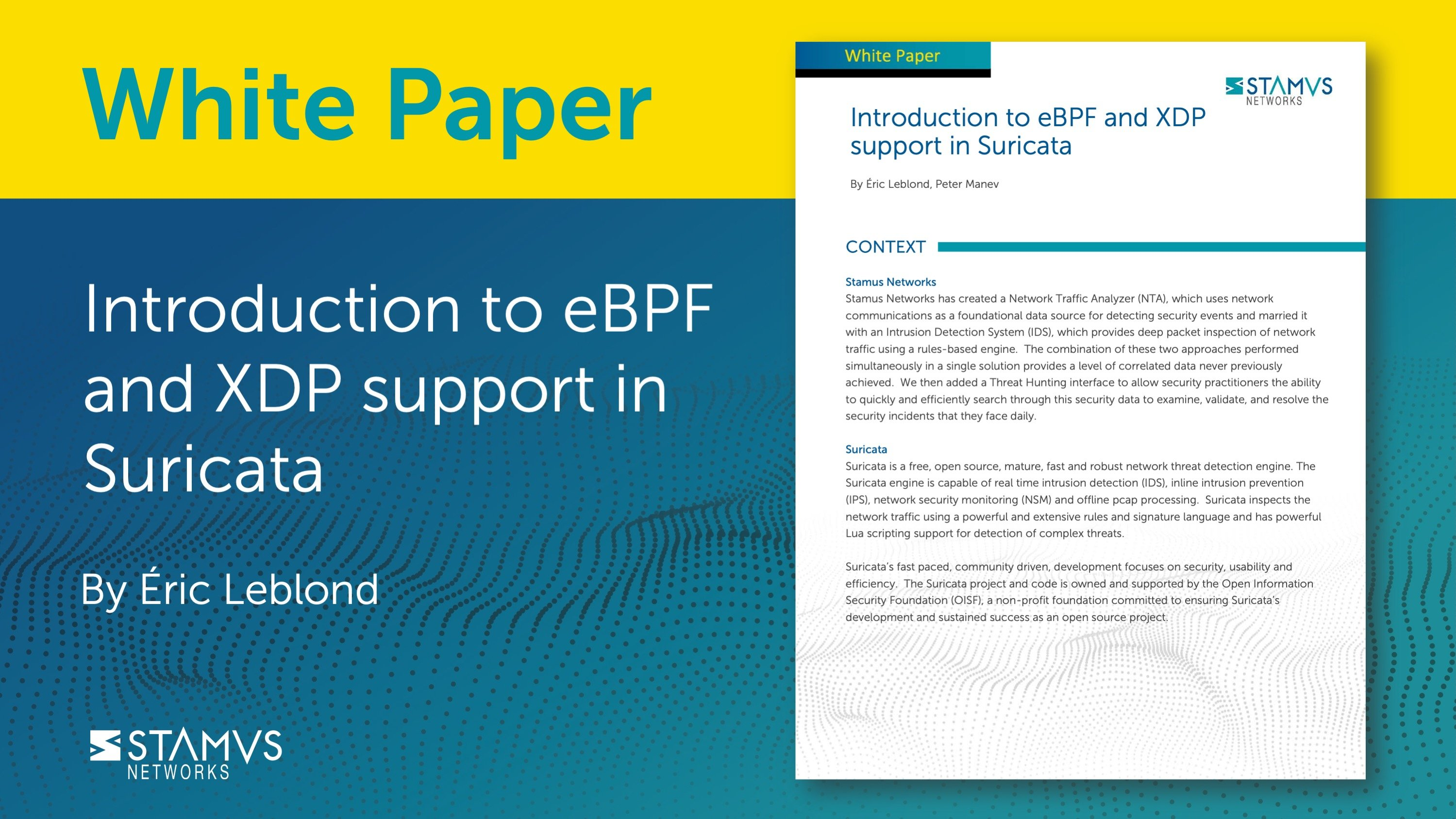 Introduction to eBPF and XDP support in Suricata