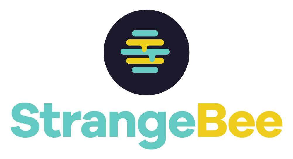 StrangeBee-logo-stacked